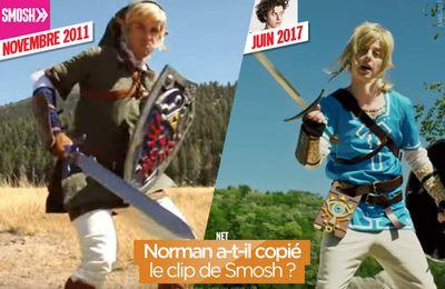 Norman a-t-il copié le clip de Smosh ? #Zelda