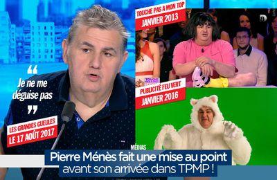 Pierre Ménès fait une mise au point avant son arrivée dans TPMP ! #TPMP