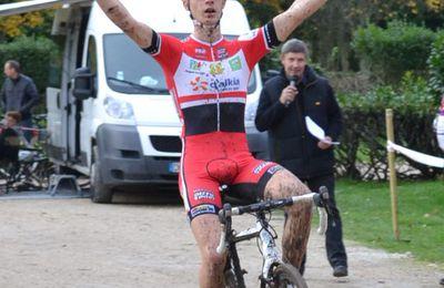 Fontenay-lès-Briis (91) : cyclo-cross Cadets,28 octobre 2015