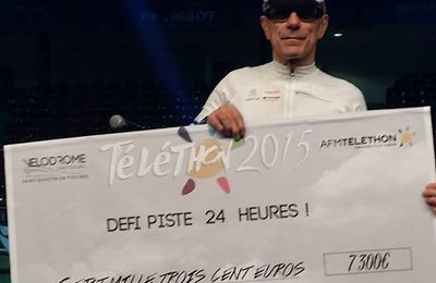 Téléthon 2015-VIDEOS : JEAN-MICHEL RICHEFORT