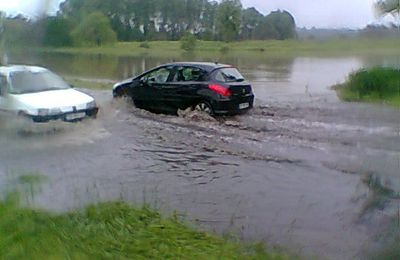 Longjumeau-Champlan (91) inondé: 1er juin 2016