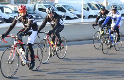 Les cyclistes givrés 2017 du MIN de Rungis