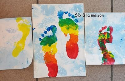 Les pieds dans l'eau - DIY - L'art est un jeu d'enfant