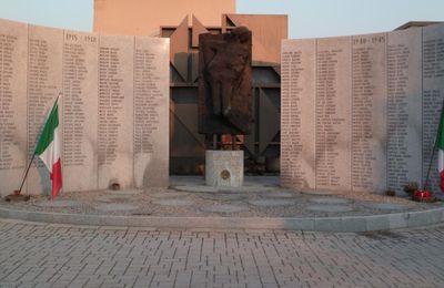 Un monumento dedicato ai quindici lissonesi caduti durante la guerra di Liberazione