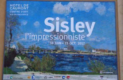 Sisley, l'impressionniste. Hôtel de Caumont. Centre d'art. Aix-en-Provence