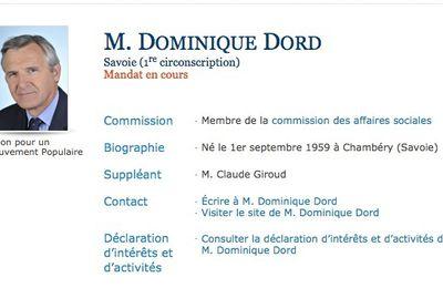 Dominique Dord député absent