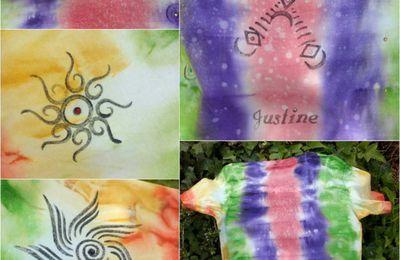 Je vous offre mon astuces pour créer un encreur pour peinture tissu darwi TEX