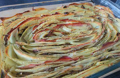 Tourbillon de légumes en gratin 4sp