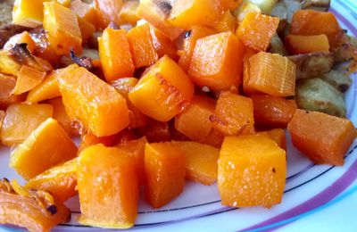 Butternut rôti au four 1sp