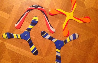 Tests des boomerangs DECATHLON