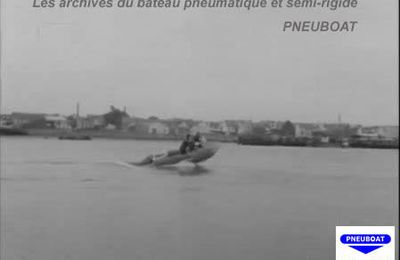 ARCHIVES PNEUBOAT 27 septembre 1967, Georges Hennebutte et son Espadon s'attaquent à la barre d'ETEL