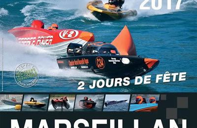 + DE 300 PHOTOS DES COURSES OFFSHORE SEMI-RIGIDE MARSEILLAN DU 6 ET 7 MAI 2017