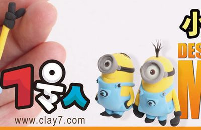 DESPICABLE ME - TUTO MINION EN FIMO (images)