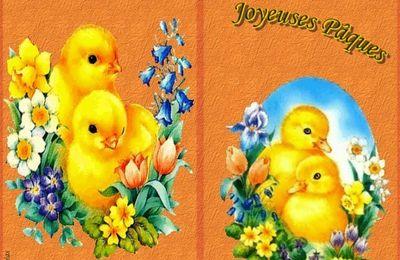 Carte de Pâques à imprimer ou envoyer gratuitement