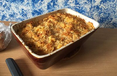 Gratin Mac and Cheese Carotte Curry
