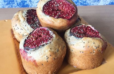 Muffins healthy figue et amande