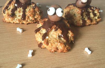 Cookies araignées Halloween
