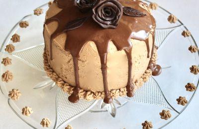 Layer Cake aux deux chocolats