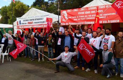 Les JRCF fiers du succès du stand du PRCF à la fête de l'huma !