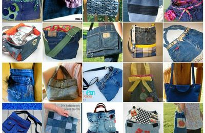 Mercredi, c'est tuto! #9  - Les sacs en jeans recyclés
