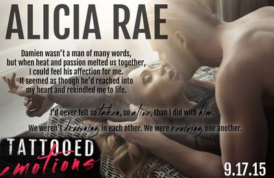 Tattooed Emotions By Alicia Rae~ MY REVIEW!