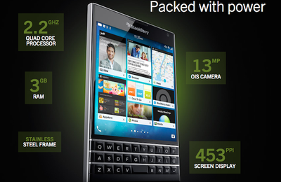 BlackBerry Passport, annonce officielle