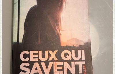 CEUX QUI SAVENT de Julien MESSEMACKERS