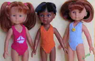 Vos poupées à la plage !