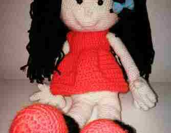 La poupée Paula de Sonia