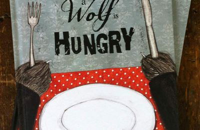 Copies of When a Wolf is Hungry. Here, now.