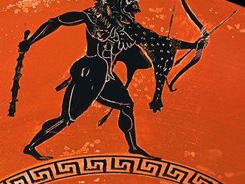 """La guerre - L'opposition de l'archer et de l'hoplite dans l' """"Héraclès furieux"""" d'Euripide"""