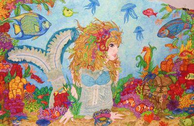 Le quilt mural: patchwork, appliqués et broderies - Extraits de livres