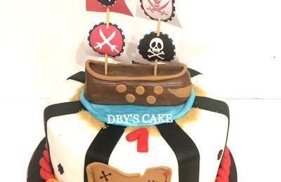 Gâteau pirate 2