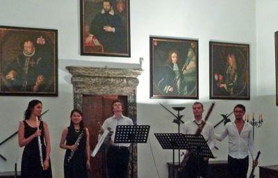 Saoû chante Mozart à Rovereto, concert du Quintette Audimozart