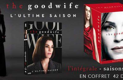 The Good Wife, la saison 7 en DVD ainsi qu'un coffret intégral.