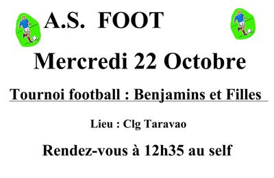 TOURNOI DE FOOTBALL (BG / BF)