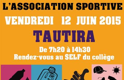 JOURNÉE DE L'ASSOCIATION SPORTIVE @ TAUTIRA