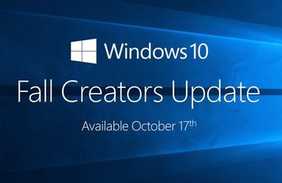 Windows10 Fall Creators Update - Les nouveautés et disparitions