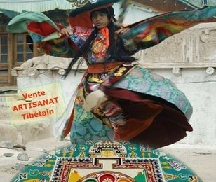 « Arts Sacrés du Tibet », spectacle de danses et de chants, le 10 octobre 2015 à Dineaut (29)