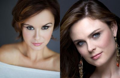 Sosie : Keegan Connor Tracy /  Emily Deschanel