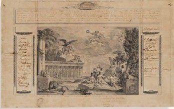 Un diplôme de la loge des Neufs sœurs (1785) et le souvenir de Benjamin Franklin