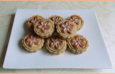Mooncakes aux abricots secs