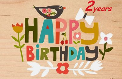 Happy birthady 2th blog Miss Kitchen