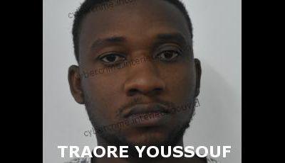 TRAORÉ YSSOUF SUSPECTÉ D'USURPATION D'IDENTITÉ SUR INTERNET INTERPELLÉ