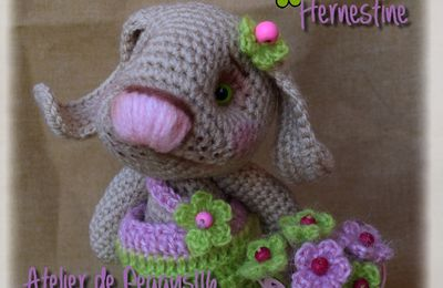 Hernestine, La lapine