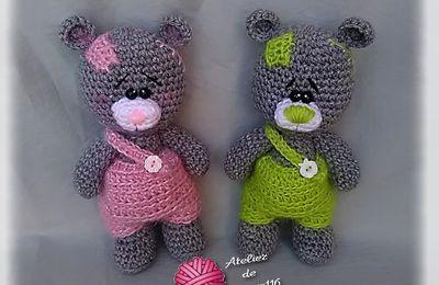 Pom et Pam, deux petits oursons