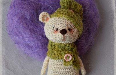 Collection WILLOW : Petit Ourson au crochet