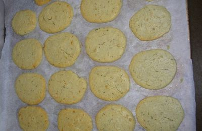 Biscuits au gorgonzola