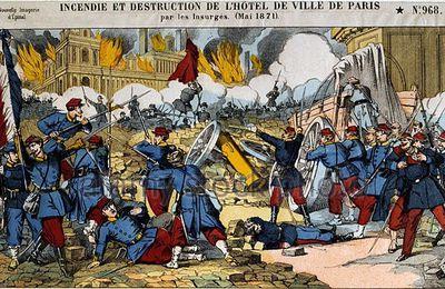 L'ARMEE A LA RECONQUETE DE PARIS PENDANT LA SEMAINE SANGLANTE EN 1871