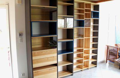 biblioth que contemporaine brick atelier pourquoi pas mobilier design. Black Bedroom Furniture Sets. Home Design Ideas